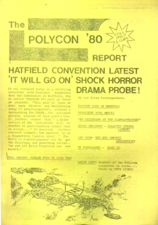 Hatfield PSIFA Science Fiction Convention