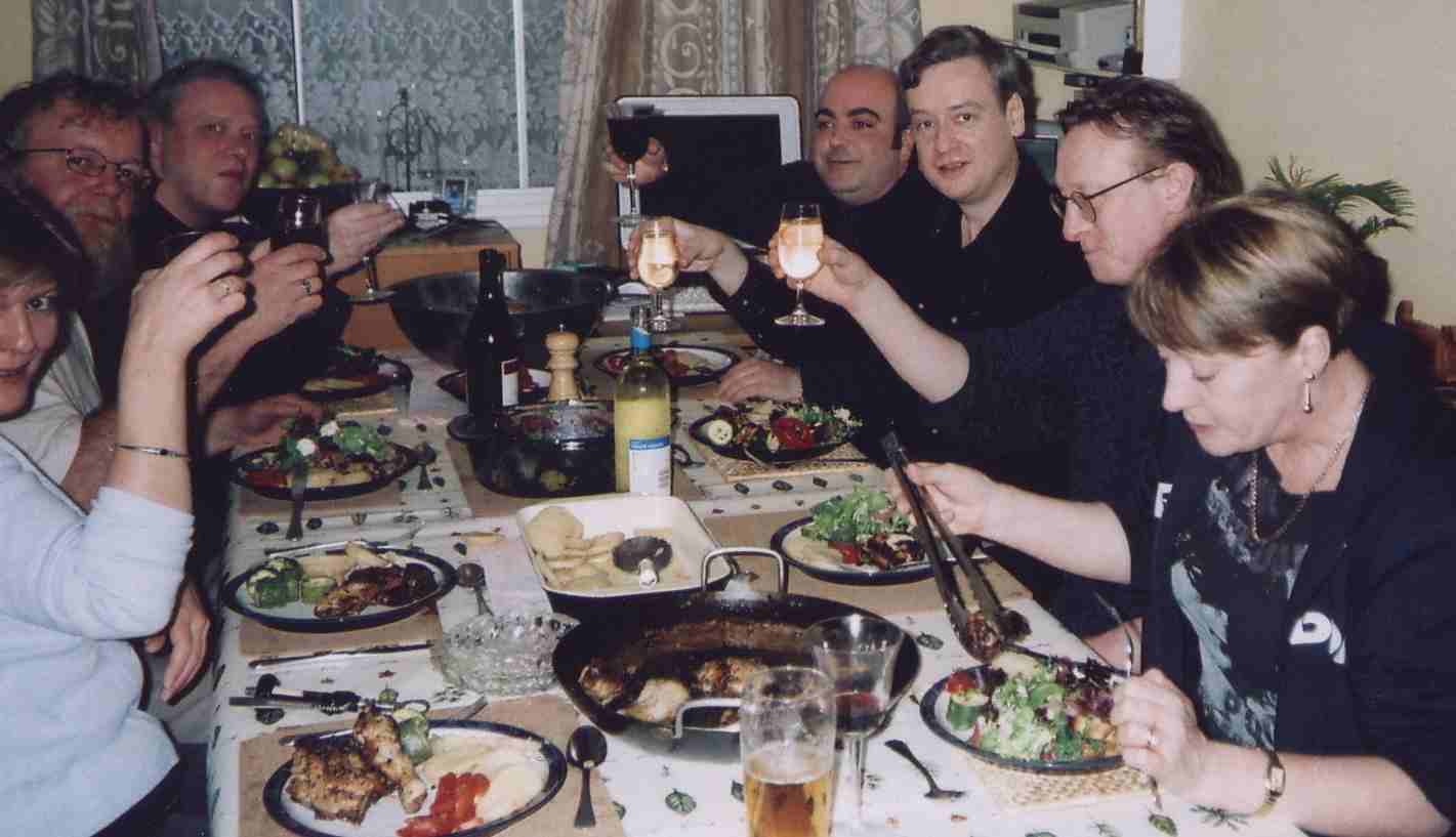 Concatenation staff 2003 at Christmas